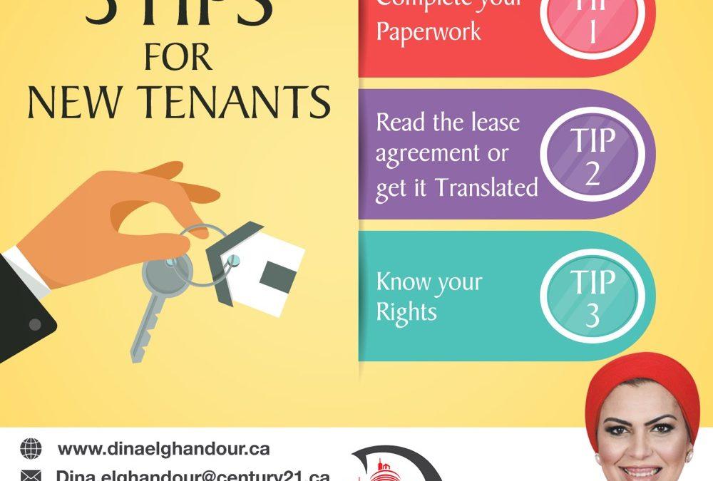 ماهى المعلومات التى تفيد المهاجر الجديد عند ايجار منزل فى كندا